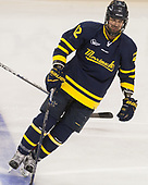 Ludvig Larsson (Merrimack - 12) - The visiting Merrimack College Warriors defeated the Boston College Eagles 6 - 3 (EN) on Friday, February 10, 2017, at Kelley Rink in Conte Forum in Chestnut Hill, Massachusetts.