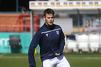 3rd April 2021; Dens Park, Dundee, Scotland; Scottish FA Cup Football, Dundee FC versus St Johnstone; Danny Mullen of Dundee during the warm up before the match