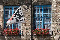 Europe/France/Nord-Pas-de-Calais/59/ Nord/ Bergues: Façade de l'Estaminet: Le Brueghel,