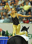 7 October 2010: Alicen Divita (USA) competes during Vaulting in the World Equestrian Games in Lexington, Kentucky