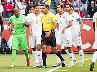 CHICAGO, ILLINOIS - June 7, 2016: Copa America Centenario USA 2016.  USA vs Costa Rica in a match at Soldier Field.  Final score USA 4, Costa Rica 0.