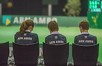 Rotterdam, Netherlands, 11 februari, 2017, ABNAMROWTT,  Final Supermatch, Ballkids
