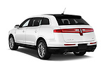 Car pictures of rear three quarter view of a 2018 Lincoln MKT Reserve 5 Door SUV angular rear