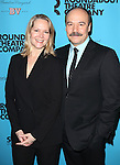 Rebecca Luker and Danny Burstein attends the Roundabout Theatre Company's 2014 Spring Gala at Hammerstein Ballroom on March 10, 2014 in New York City.