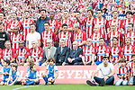Atletico de Madrid Legends's during friendly match to farewell  to Vicente Calderon Stadium in Madrid, May 28, 2017. Spain.<br /> (ALTERPHOTOS/BorjaB.Hojas)