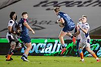 19th December 2020; AJ Bell Stadium, Salford, Lancashire, England; European Champions Cup Rugby, Sale Sharks versus Edinburgh;  Rob du Preez of Sale Sharks rises to catch a high ball