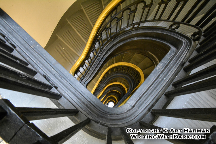 """""""Capitol Steps"""" One of many unique staircases in the U.S. Capitol building. By Art Harman"""
