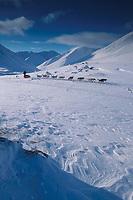 J Bramante Rainy Pass Summit 2000 Iditarod Alaska Range