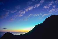 Saba Island, Netherlands Antilles, (Eastern Caribbean Sea) Atlantic