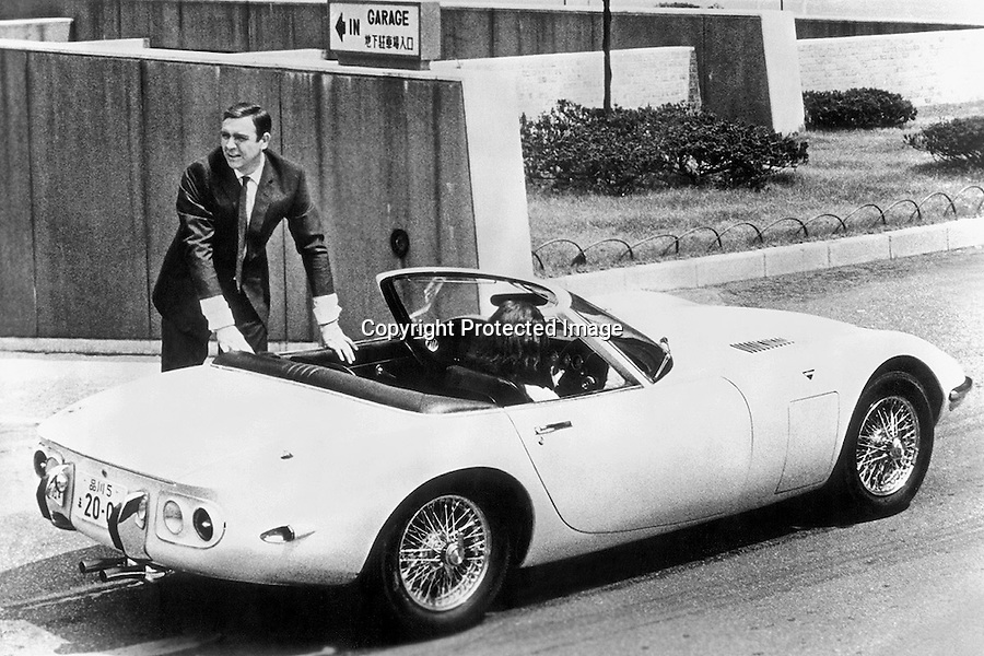 BNPS.co.uk (01202 558833)<br /> Pic: GoogleImages<br /> <br /> Sean Connery's Bond drove the 2000 GT in the 1967 film 'You Only Live Twice'<br /> <br /> Million Pound Toyota!<br /> <br /> RM Sothebys up-coming auction of some of the worlds most desirable supercars contain's one unlikely listing amongst the Ferrari's, Bugatti's and Porsche -  a humble Toyota 2000 GT dubbed the 'Japanese E-Type'.<br /> <br /> Despite its unusual looks and utilitarian trim, this humdrum relic of the 1960's is likely to sell for over a million pounds as part of RM Sothebys £43 million 'Pinnacle' sale in Monterey, California next month.<br /> <br /> It's collectability has been enhanced by a tiny production run of only 371 vehicles, and by an appearance in the 1967 Bond film 'You Only Live Twice' in which Sean Connery swaps his more recognisable Aston Martin for a convertible 2000 GT.