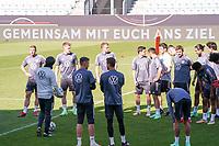 Bundestrainer Joachim Loew (Deutschland Germany) und die Nationalmannschaft hoffen auf den Rückhalt der Fans - Innsbruck 01.06.2021: Abschlusstraining Deutsche Nationalmannschaft