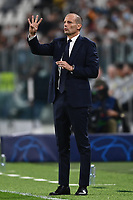 29th September 2021; Turin, Italy;   Manager Massimiliano Allegri UEFA Champions League;  group H match between Juventus and Chelsea at the Juventus Stadium, Turin, Italy
