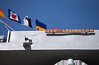 USS Arlington Commissioning