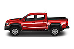 Car driver side profile view of a 2019 Chevrolet Colorado ZR2 4 Door Pick Up