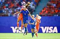 Aurora Galli (italie) vs Danielle van de Donk (Pays Bas) <br /> Valenciennes 29-06-2019 <br /> Football Womens World Cup <br /> Italia - Olanda <br /> Photo JB Autissier/ Panoramic/Insidefoto <br /> ITALY ONLY