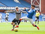 06.03.2021 Rangers v St Mirren: Ianis Hagi and Marcus Fraser