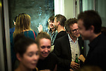 © Joel Goodman - 07973 332324 . 16/09/2016 . Hamburg , Germany . Post-show drinks after the opening night of Wut / Rage at the Thalia Theatre . The piece is written by Elfriede Jelinek and Simon Stephens and directed by Sebastian Nubling . Photo credit : Joel Goodman