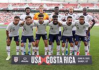 USMNT v Costa Rica, June 10, 2021