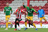 Said Benrahma of Brentford in action during Brentford vs Preston North End, Sky Bet EFL Championship Football at Griffin Park on 15th July 2020