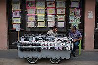 Des vendeurs de rue à Adiyaman.