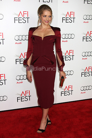 HOLLYWOOD, CA - NOVEMBER 08: Teresa Palmer at the 'Lincoln' premiere during the 2012 AFI FEST at Grauman's Chinese Theatre on November 8, 2012 in Hollywood, California. Credit: mpi21/MediaPunch Inc.