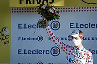 Polka Dot Jersey / KOM leader Benoît Cosnefroy (FRA/AG2R-La Mondiale)<br /> <br /> Stage 5 from Gap to Privas (183km)<br /> <br /> 107th Tour de France 2020 (2.UWT)<br /> (the 'postponed edition' held in september)<br /> <br /> ©kramon