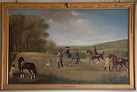 'Shooting at Goodwood', 1759-60 by George Stubbs