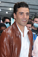 NEW YORK, NY- October 12: Oscar Isaac seen after an appearance on The View promoting HBOMAX's Scenes From A Marriage on October 12, 2021 in New York City. <br /> CAP/MPI/RW<br /> ©RW/MPI/Capital Pictures
