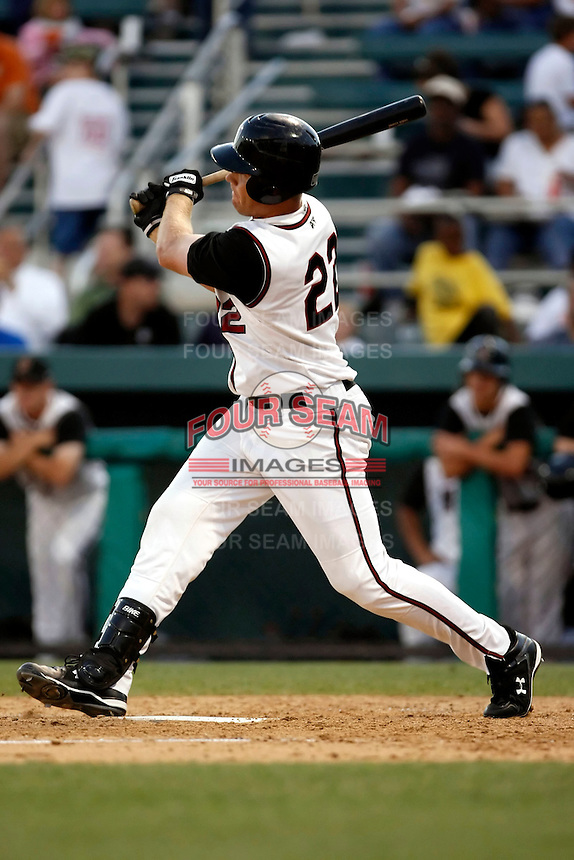 Jeff Cunningham  -  2009 Modesto Nuts playing against the Visalia Rawhide at John Thurman Field, Modesto, CA - 05/19/2009.Photo by:  Bill Mitchell/Four Seam Images