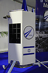 Israel, a model of the nano-spaceship of Spaceil, the Israeli contestant to Google Lunar X Prize on display at the Eights Ilan Ramon annual International Space Conference in Herzliya