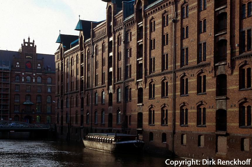 Deutschland, Hamburg, Speicherstadt im Hafen
