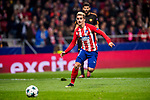 Diego Roberto Godin Leal of Atletico de Madrid runs with the ball during the UEFA Champions League 2017-18 match between Atletico de Madrid and AS Roma at Wanda Metropolitano on 22 November 2017 in Madrid, Spain. Photo by Diego Gonzalez / Power Sport Images
