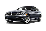 Stock pictures of low aggressive front three quarter view of 2016 BMW 3 Series 328i 5 Door Hatchback Low Aggressive