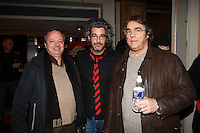 Montreal (Qc) CANADA - Feb 22 2007<br /> Christian larouche,<br /> REal Beland,Voisins Dhantsu Premiere a l'imperial