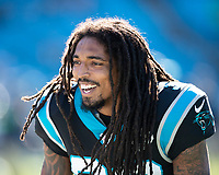 CHARLOTTE, NC - DECEMBER 15: Tre Boston #33 of the Carolina Panthers during a game between Seattle Seahawks and Carolina Panthers at Bank of America Stadium on December 15, 2019 in Charlotte, North Carolina.