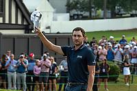 5th September 2021: Atlanta, Georgia, USA;  Patrick Cantlay (USA)  taps in a birdie putt to win the PGA TOUR Championship on September 5, 2021 at East Lake Golf Club in Atlanta, GA. (Photo by John Adams/Icon Sportswire)