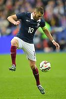 Karim Benzema (Fra) <br /> Parigi 26-03-2015 Stade De France Calcio Football 2014/2015 Amichevole Francia Brasile <br /> Foto Panoramic / Insidefoto