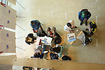 Students study for final exams in  the College of Pharmacy building on the Kingston Campus in South Kingstown, RI  on Thursday, Dec. 5, 2013. (Photo/Joe Giblin)