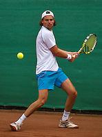 12-08-13, Netherlands, Raalte,  TV Ramele, Tennis, NRTK 2013, National RankingTennis Championships 2013,  Matthew Pierot<br /> <br /> Photo: Henk Koster