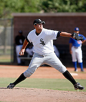 Dan Remenowsky - Chicago White Sox 2009 Instructional League. .Photo by:  Bill Mitchell/Four Seam Images..