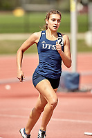 SAN ANTONIO, TX - APRIL 17, 2021: The University of Texas at San Antonio Roadrunners compete at the UTSA Roadrunner Invitational Track & Field Meet at the Park West Athletics Complex (Photo by Jeff Huehn).