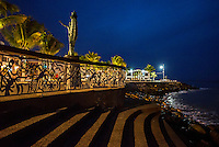 Fine Art Landscape Photograph of an early morning sunrise in Puerto Vallarta, Mexico. <br />
