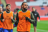 Leeds United's forward Kemar Roofe (7) during the Sky Bet Championship match between Sheff United and Leeds United at Bramall Lane, Sheffield, England on 1 December 2018. Photo by Stephen Buckley / PRiME Media Images.