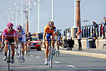 Mark Cavendish wins sprint at Southport in 2007 Tour of Britain