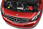 Car stock 2018 Mercedes Benz Citan Perfect Tool 4 Door Panel Wagon engine high angle detail view