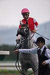 June 29,2014:Gold Ship,ridden by Norihiro Yokoyama,wins the Takarazuka Kinen at Hanshin in Hyogo,Japan. Kazushi Ishida/ESW/CSM