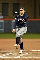 SAN ANTONIO, TX - FEBRUARY 10, 2018: The University of Texas at San Antonio Roadrunners fall to the Seton Hall Pirates 3-1 at Roadrunner Field. (Photo by Jeff Huehn)