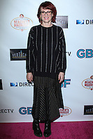 """HOLLYWOOD, CA - NOVEMBER 19: Megan Mullally arriving at the """"G.B.F."""" Los Angeles Premiere held at the Chinese 6 Theater Hollywood on November 19, 2013 in Hollywood, California. (Photo by David Acosta/Celebrity Monitor)"""