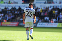 Viola Branding during the Sky Bet Championship match between Swansea City and Nottingham Forest at the Liberty Stadium in Swansea, Wales, UK. Saturday 14 September 2019