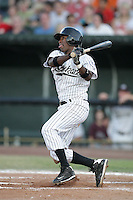 August 11, 2009: Deivy Batista of the Idaho Falls Chukars. The Chukars are the Pioneer League affiliate for the Kansas City Royals. Photo by: Chris Proctor/Four Seam Images